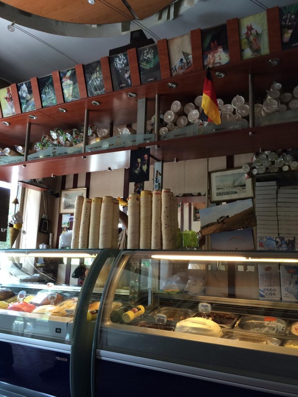 عکس پروفایل آبمیوه و بستنی بستنی سن مارکو