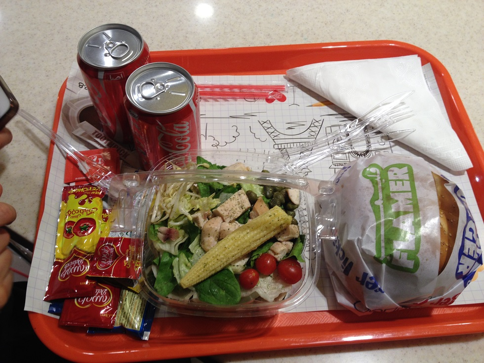 عکس پروفایل پیتزا و همبرگر لااسپید