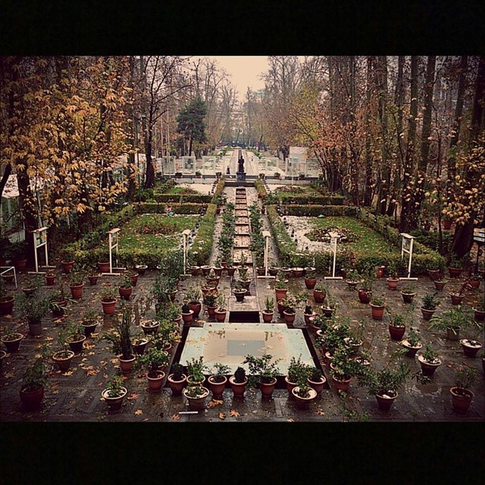عکس پروفایل بوستان ها و پارک ها پارک باغ فردوس
