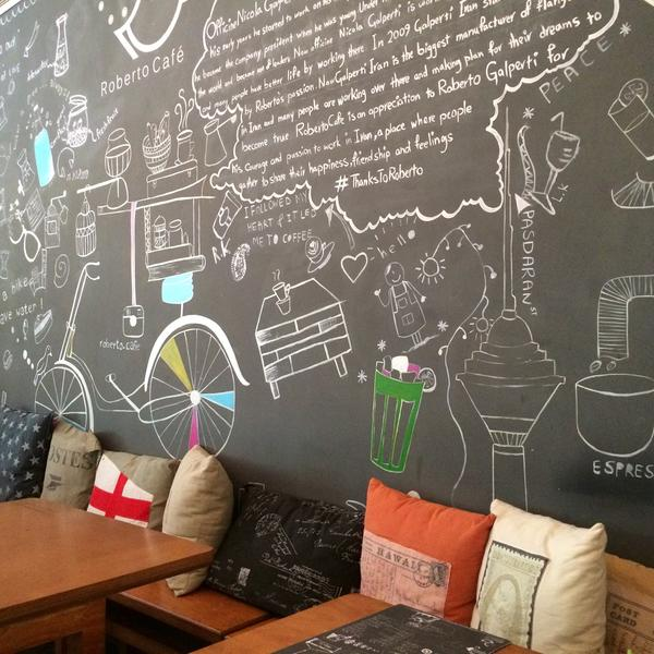 عکس پروفایل کافه ها کافه روبرتو