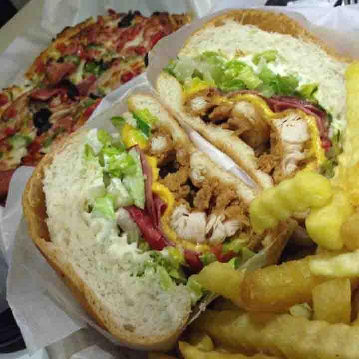 عکس پروفایل پیتزا و همبرگر فست فود سیدنی